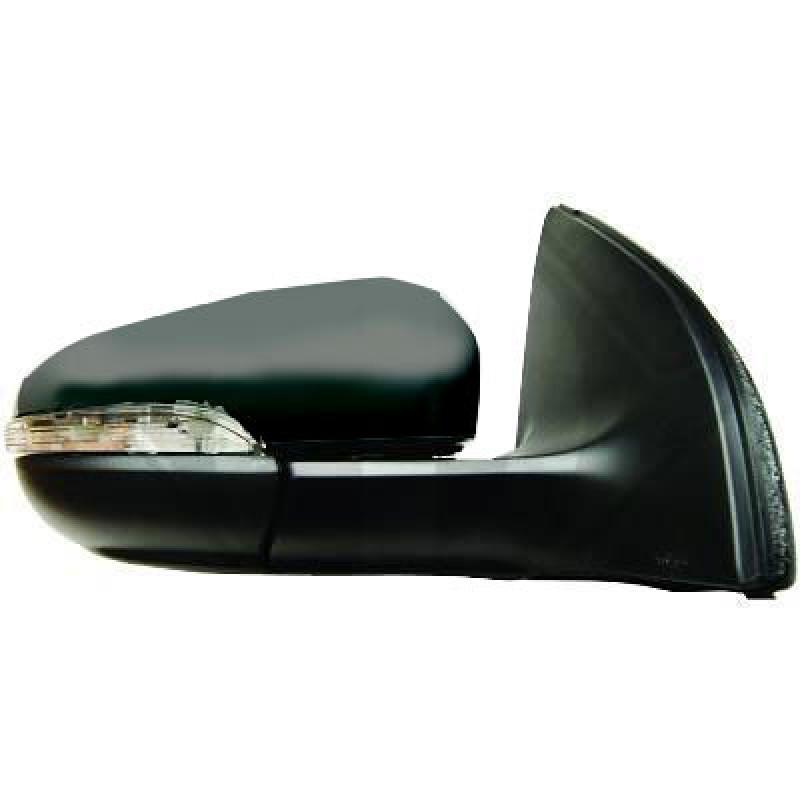 retroviseur droit volkswagen golf vi retroviseur volkswagen golf vi de 2008 2012 noir 6. Black Bedroom Furniture Sets. Home Design Ideas