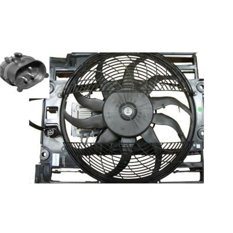helice ventilateur bmw s rie 5 e39 3 broches cadre ventilateur de climatisation 3 broches. Black Bedroom Furniture Sets. Home Design Ideas
