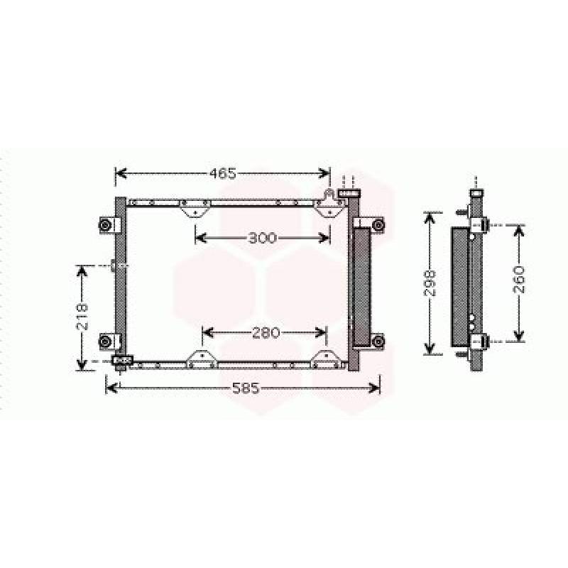 condenseur radiateur clim suzuki grand vitara condenseur. Black Bedroom Furniture Sets. Home Design Ideas