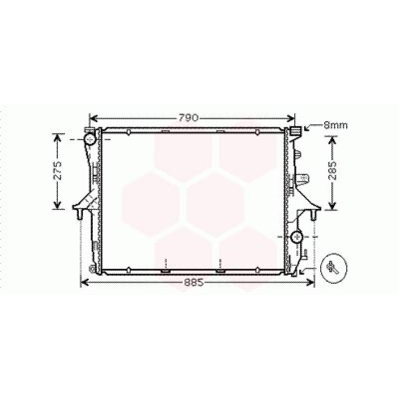 radiateur moteur porsche cayenne radiateur moteur. Black Bedroom Furniture Sets. Home Design Ideas