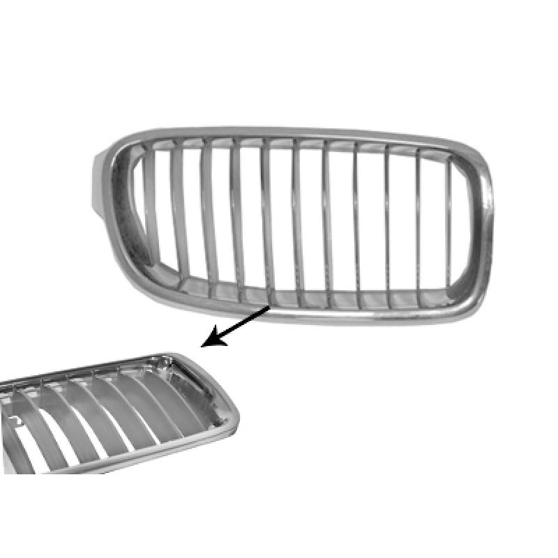 grille calandre droite bmw s rie 3 f30 f31 modern 2012 gris chrome. Black Bedroom Furniture Sets. Home Design Ideas