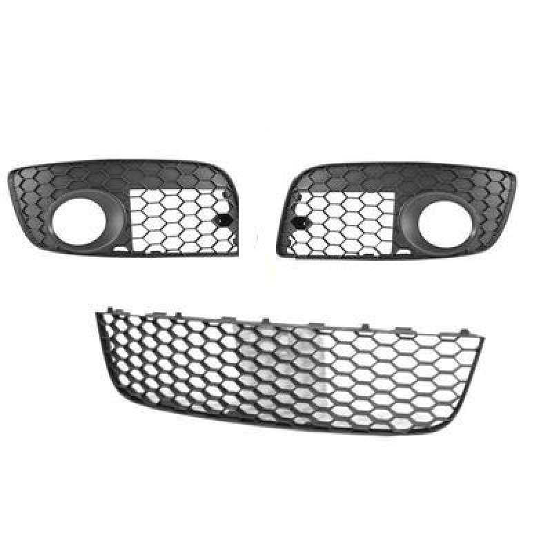 grilles pare choc volkswagen golf gti grille parechoc volkswagen golf gti de 2004 2009. Black Bedroom Furniture Sets. Home Design Ideas