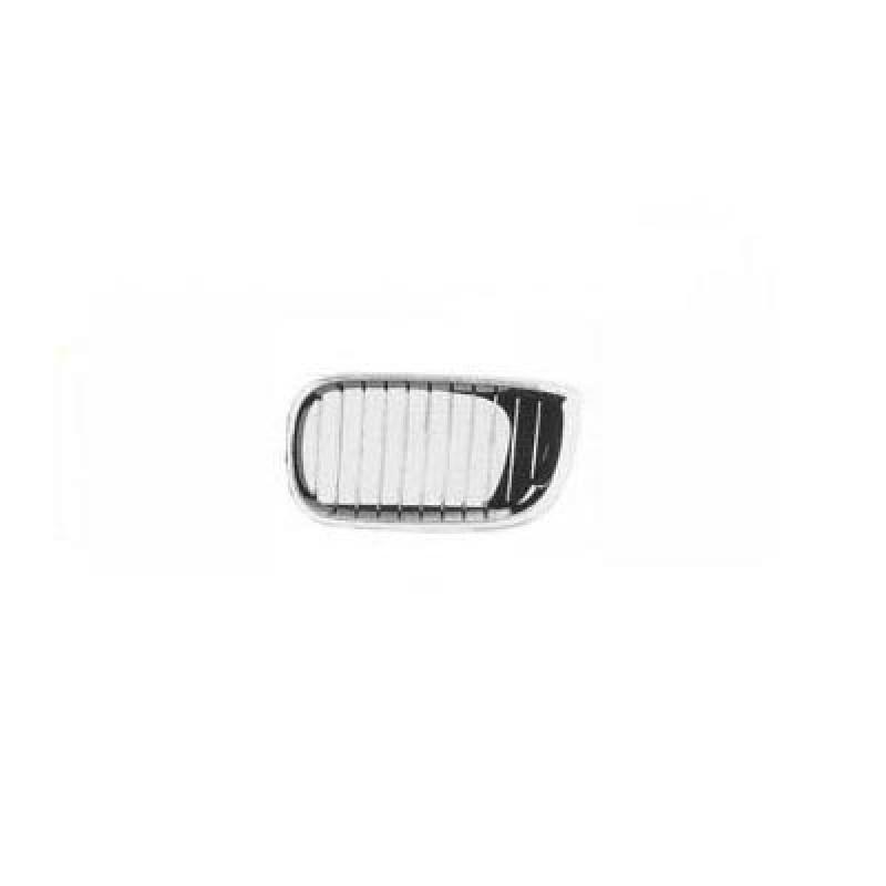 grille calandre gauche bmw serie 3 e46 calandre bmw s rie 3 e46 cadre chrom grilles noires de. Black Bedroom Furniture Sets. Home Design Ideas