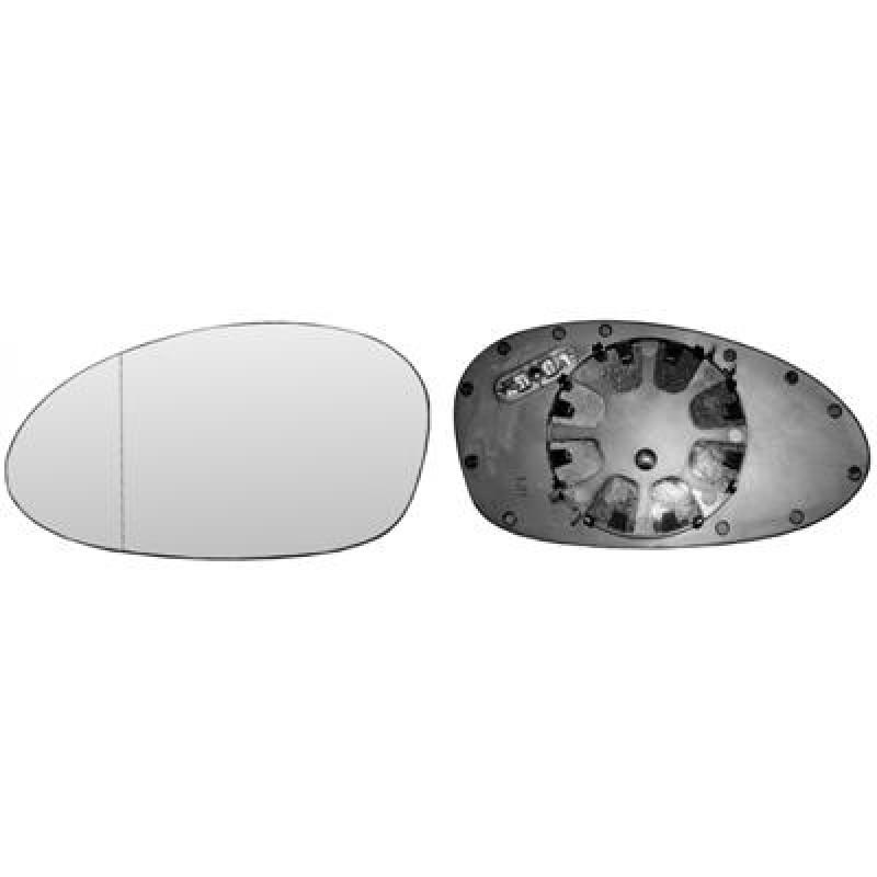 miroir retroviseur gauche bmw s rie 1 e87 glace bmw s rie 1 e87 de 2004 2009. Black Bedroom Furniture Sets. Home Design Ideas