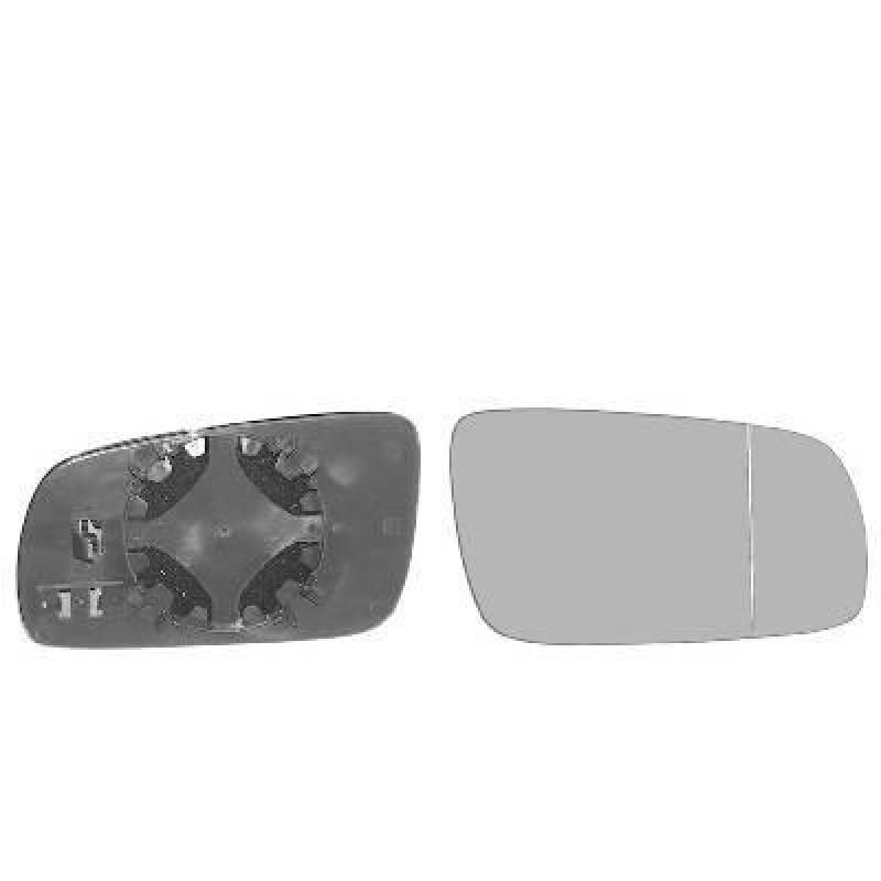 Miroir de r troviseur droit bleu chauffant convexe for Miroir de retroviseur