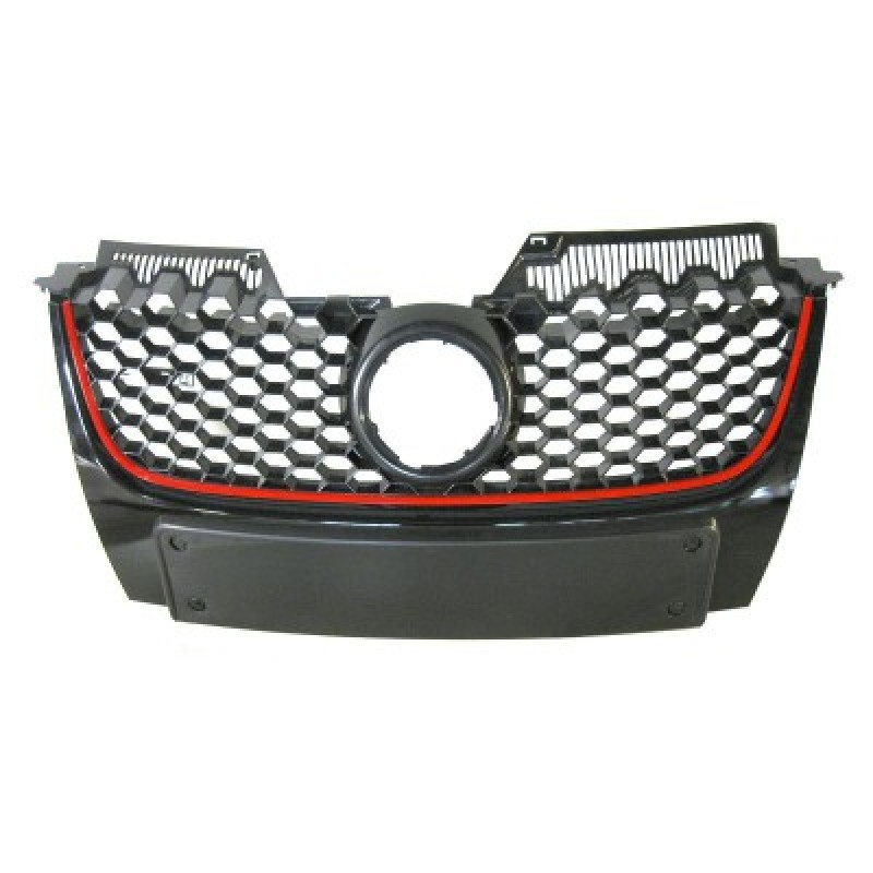 grille calandre volkswagen golf v gti grille calandre volkswagen golf 5 gti de 2004 2009. Black Bedroom Furniture Sets. Home Design Ideas