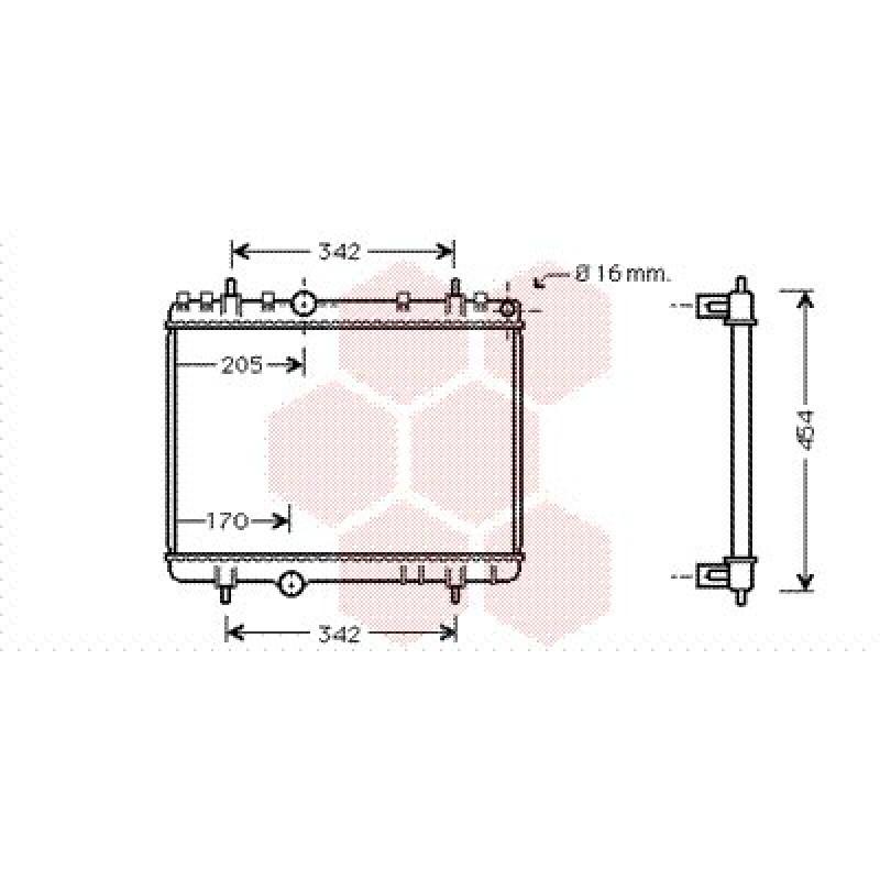 radiateur moteur citroen c5 radiateur moteur citroen c5. Black Bedroom Furniture Sets. Home Design Ideas