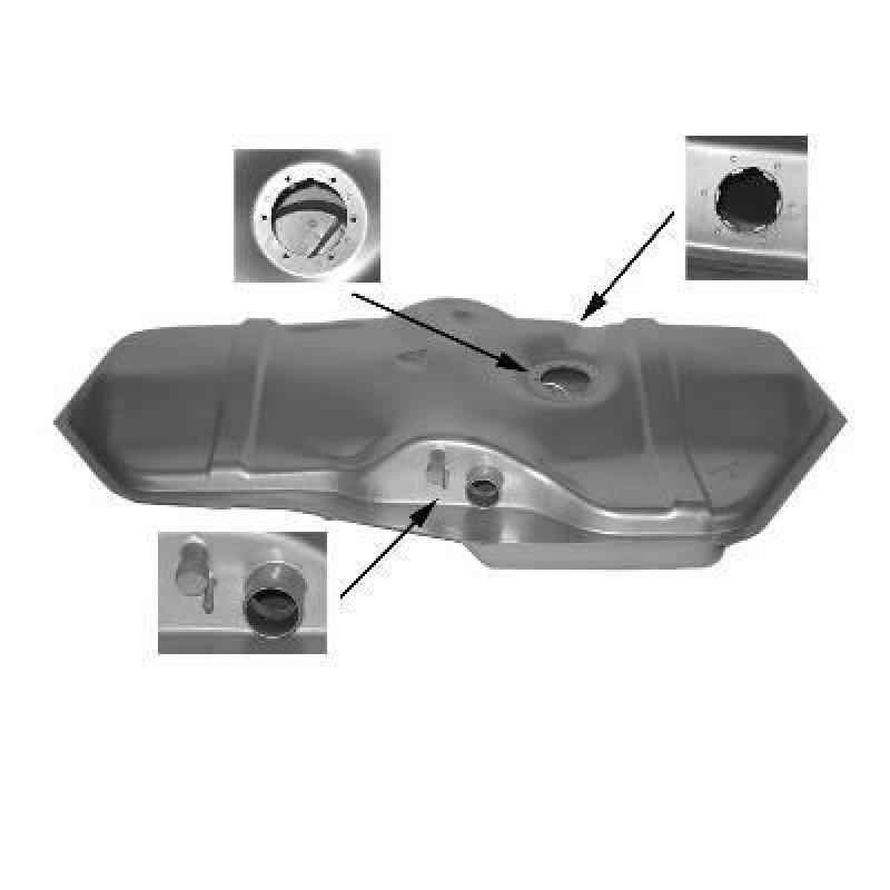 reservoir essence opel astra f 1 3 1 6 reservoir essence opel astra f injection 52l. Black Bedroom Furniture Sets. Home Design Ideas
