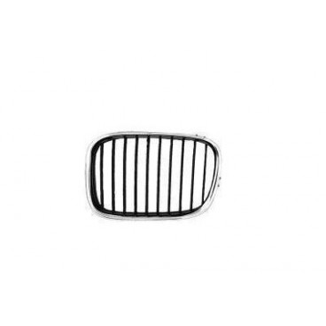 Grille calandre gauche BMW Série 5 E39 phase 1 (Noir)
