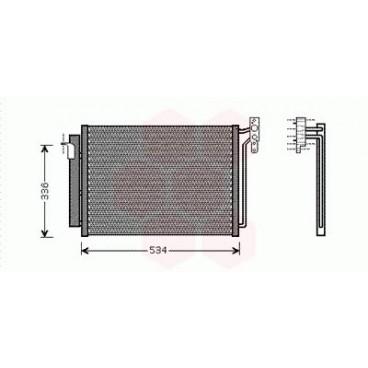 Condenseur / Radiateur de Clim BMW X5