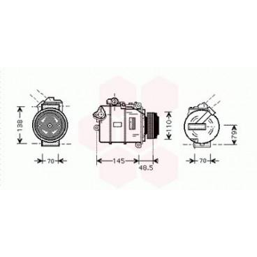 Compresseur de Climatisation BMW X3 ( 2.5i / 3.0i )