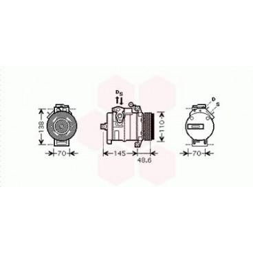 Compresseur de Climatisation BMW X5