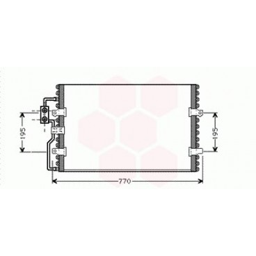 condenseur radiateur de clim peugeot expert condenseur. Black Bedroom Furniture Sets. Home Design Ideas