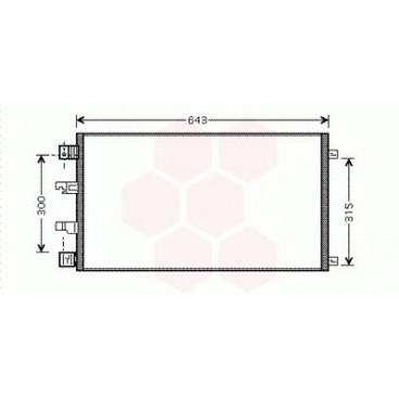 Condenseur / Radiateur de Clim Nissan Qashqai ( 2.0 DCi )