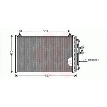 Condenseur / Radiateur de Clim Mazda Tribute