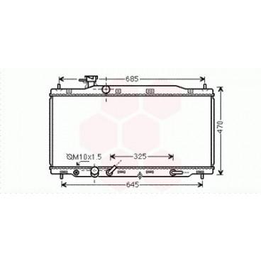 Radiateur Moteur Honda CRV ( 2.0 - Automatique )