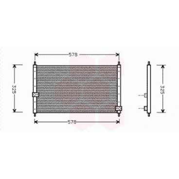 Condenseur / Radiateur de Clim Honda CRV (2.0) (Pièce Auto)