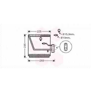Evaporateur Air Conditionné Honda CRV ( 2.0 - RHD )