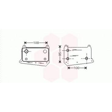 Radiateur Huile Mercedes M / ML ( ML270 CDi )