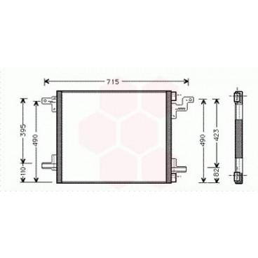 Condenseur / Radiateur de Clim Mercedes M / ML ( ML500 )