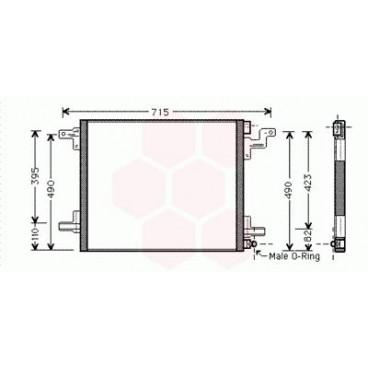 Condenseur / Radiateur de Clim Mercedes M / ML ( ML430 )