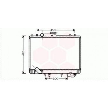 Radiateur Moteur Mitsubishi Pajero Sport ( 3.0 24V )