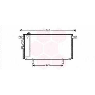Condenseur / Radiateur de Clim Mitsubishi Pajero Pinin