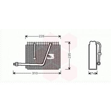 Evaporateur Air Conditionné Opel Frontera