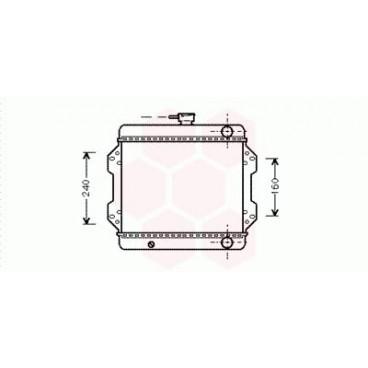 Radiateur Moteur Suzuki Samourai ( 1.0 )