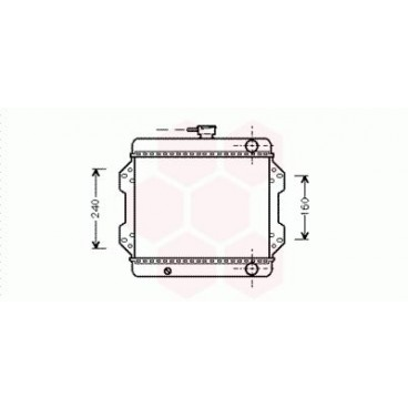 Radiateur Moteur Suzuki SJ410/ 413 ( 1.0 )