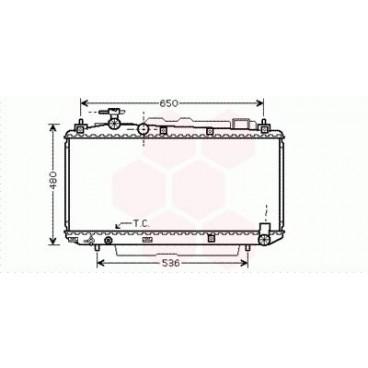 Radiateur Moteur Toyota Rav4 SXA1 / ACA2 (2.0 VVTi)