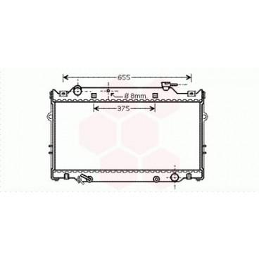 Radiateur Moteur Toyota Land Cruiser J8 ( 4.5 ) (Pièce Auto)