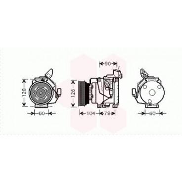 Compresseur de Climatisation Toyota Rav4 XA2 ( 2.0 D4d ) (Pièce Auto)