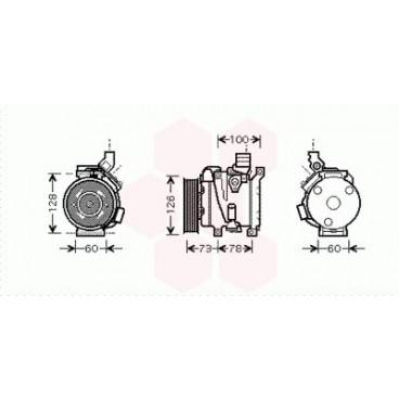 Compresseur de Climatisation Toyota Rav4 XA2 ( 2.0 )