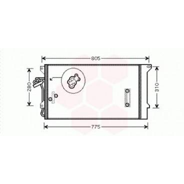Condenseur / Radiateur de Clim Porsche Cayenne