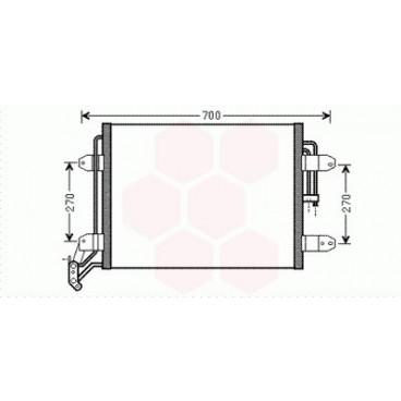 Condenseur / Radiateur de Clim Volkswagen Tiguan