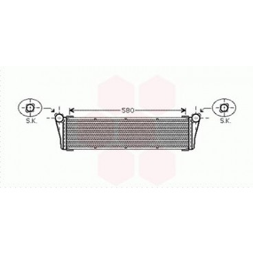 Radiateur Moteur Central Porsche Boxster ( 3.2 / 3.4 )
