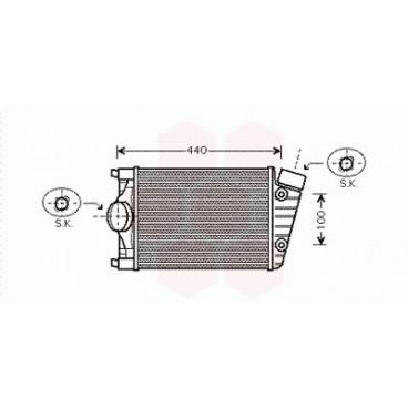 Intercooler / Echangeur d'air Porsche 911 ( 3.4 / Droit )