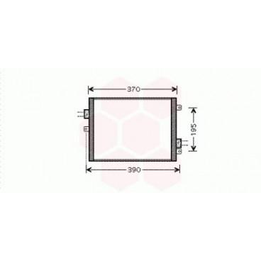 Condenseur / Radiateur de Clim Porsche Boxster