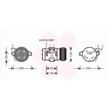 Compresseur de Climatisation Porsche 968