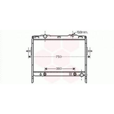 Radiateur Moteur Kia Sorento ( 2.4 i 16V / 3.5 i 24V - LHD )