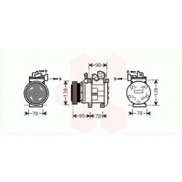 Compresseur de Climatisation Kia Sorento ( 2.4i 16V )