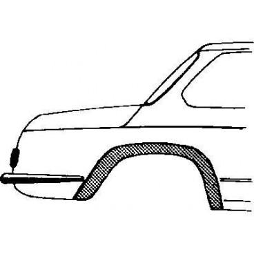 Arc d'aile arriere droit BMW 02 de 1966 à 1977