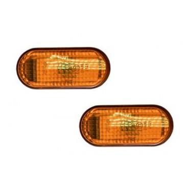 Répétiteurs clignotants latéraux orange Volkswagen Golf 3