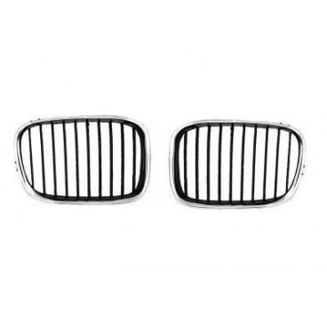 Grilles calandre chromée BMW Série 5 E39 Phase 1