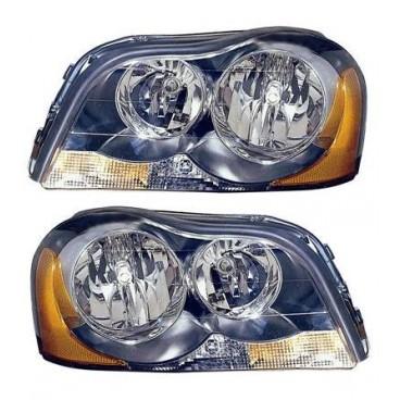 2 Phares avant (Valeo / H7+H7) Volvo XC90 10/2002+