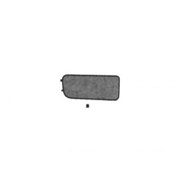 cache anti brouillard gauche bmw s rie 3 e36 de 1990 1997 pare choc bmw s rie 3 e36 0640587. Black Bedroom Furniture Sets. Home Design Ideas