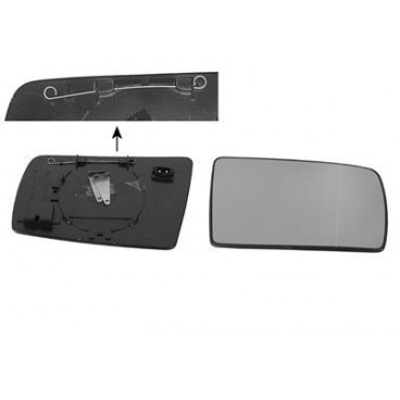 Miroir (aspherique) de retroviseur droit Mercedes C W202 1993 - 2000 (pour OE)