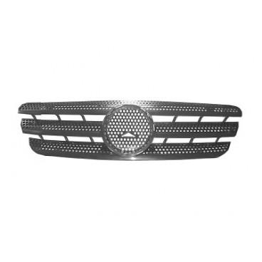 Grille Calandre (gris foncé) pour Mercedes Classe M / ML W163  1998 à 07/2005