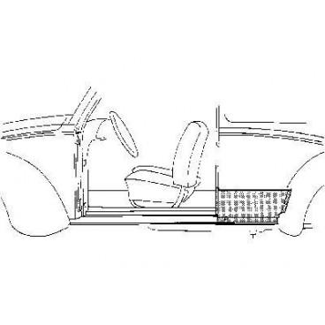 Tôle latérale Gauche Volkswagen Coccinelle